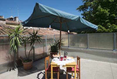Casa Battisti: le terrazze
